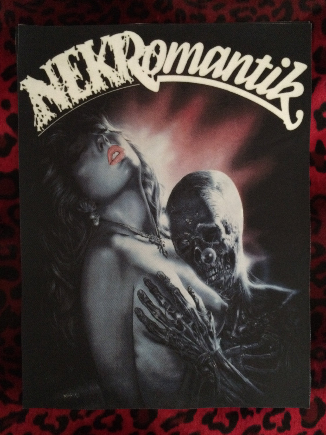 Nekromantik Back Patch