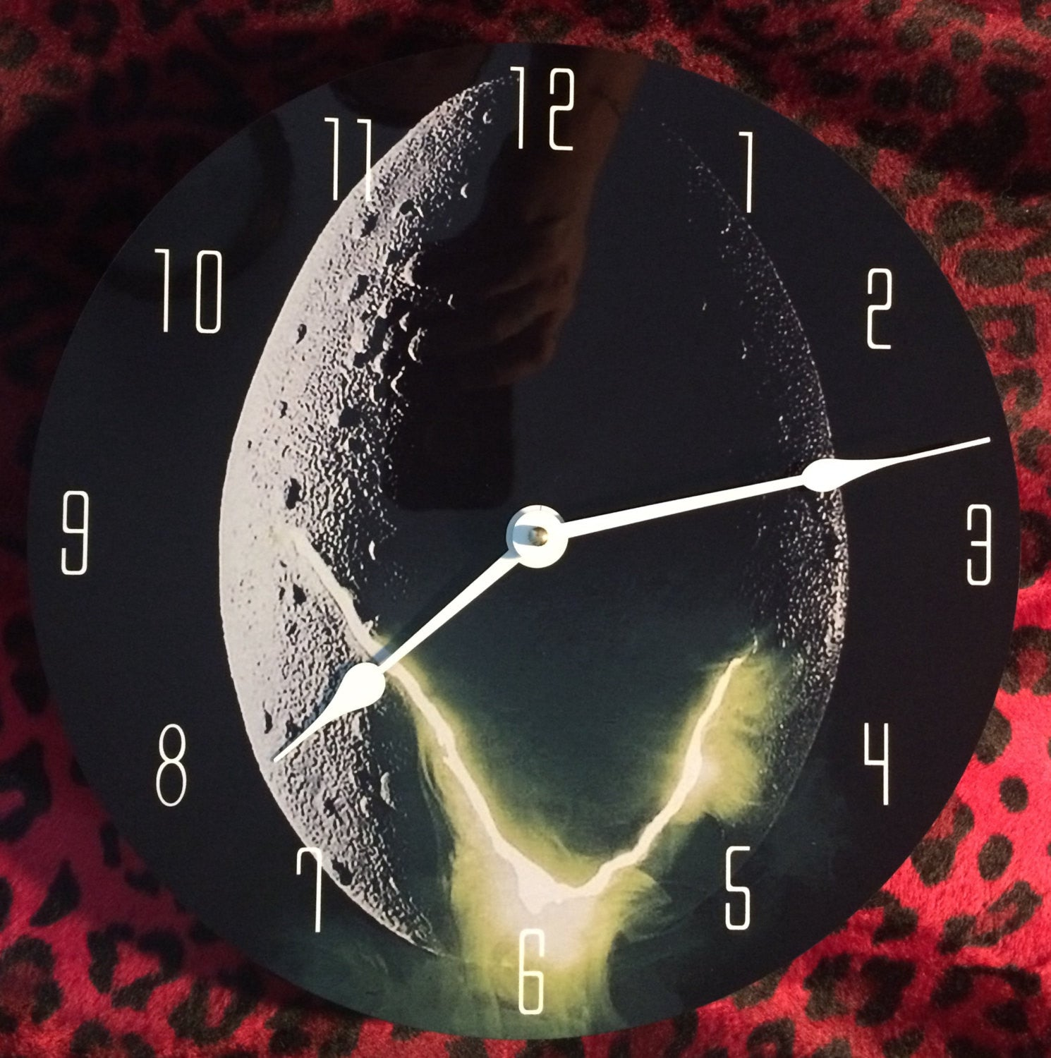 Alien Egg Wall Clock