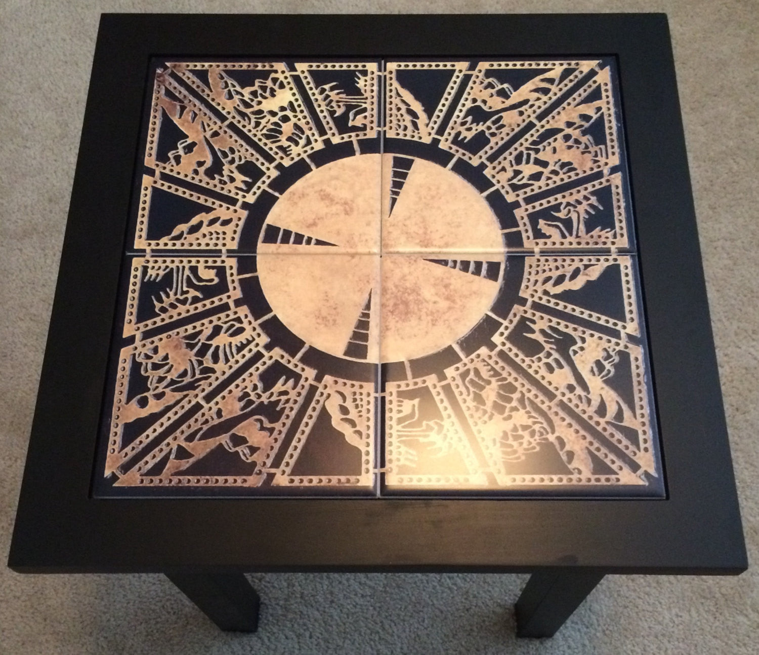Hellraiser Lament Configuration End Table Horror