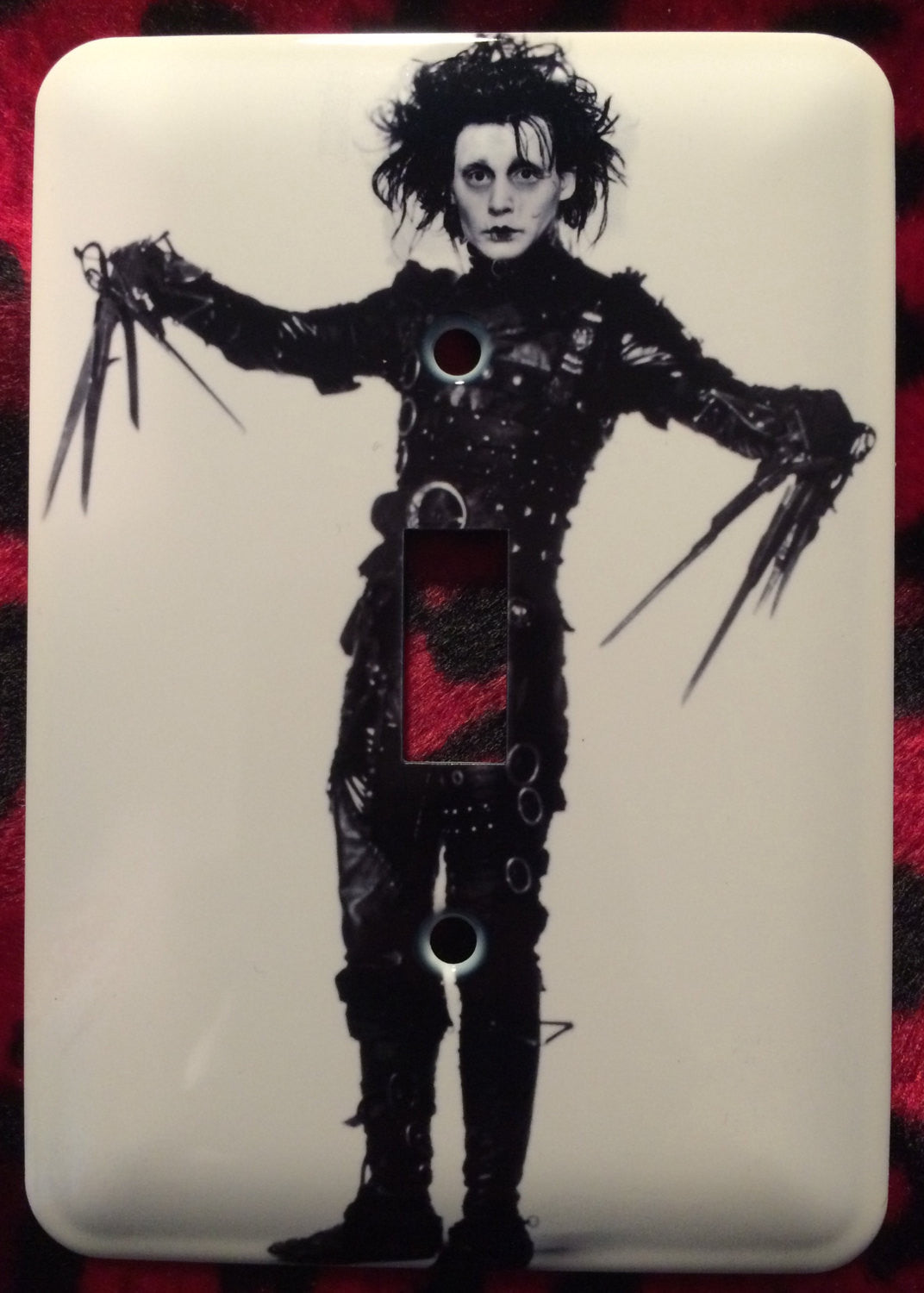 Edward Scissorhands Single Light Switch Cover