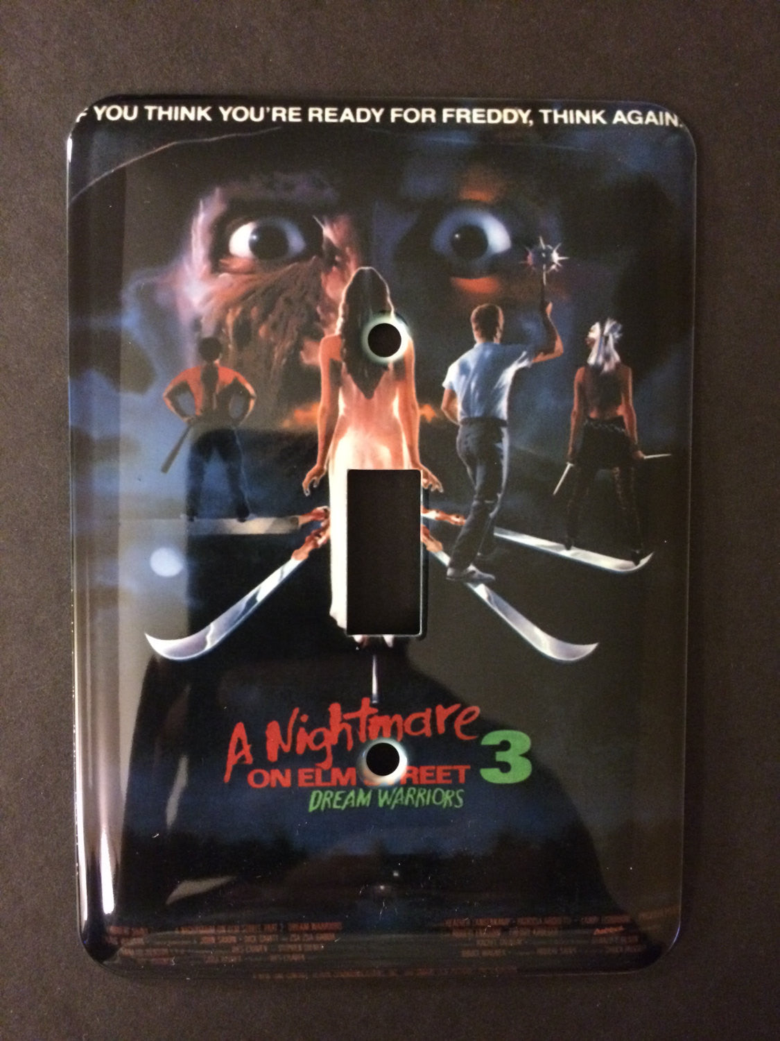 A Nightmare On Elm Street 3: Dream Warriors Single Light Switch Cover