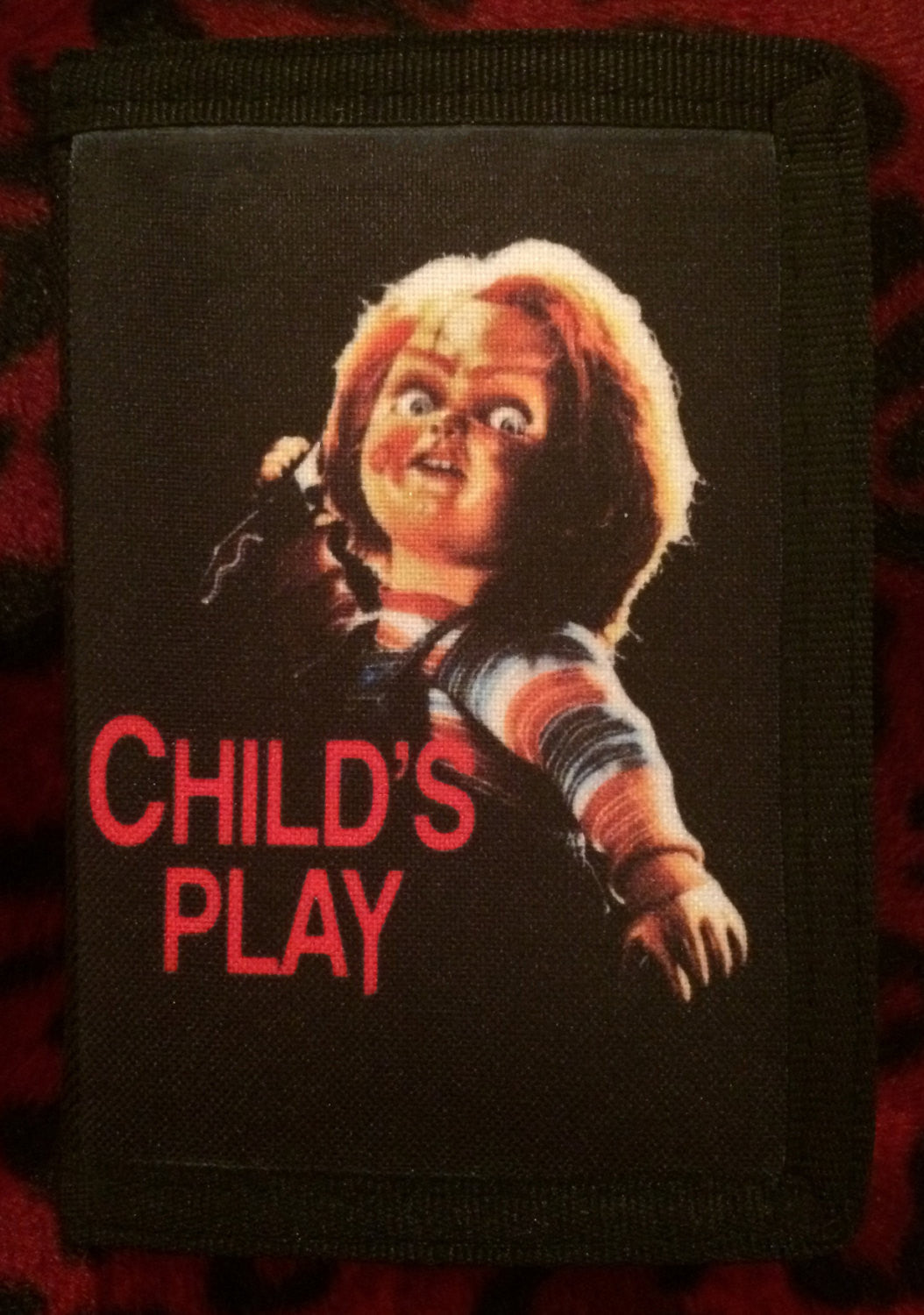 Child's Play Canvas Wallet