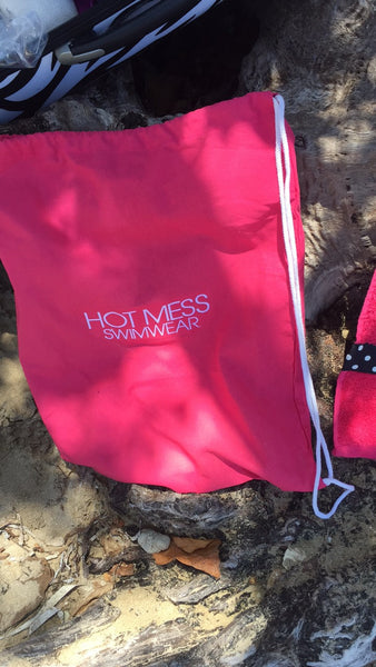 HOT MESS Cotton Back Pack