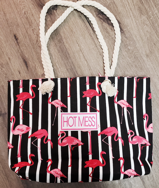 HOT MESS BEACH BAGS