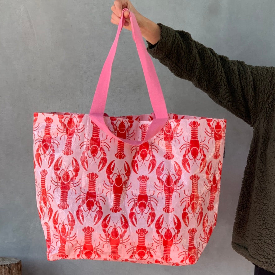 Everyday Tote - Lobster Print