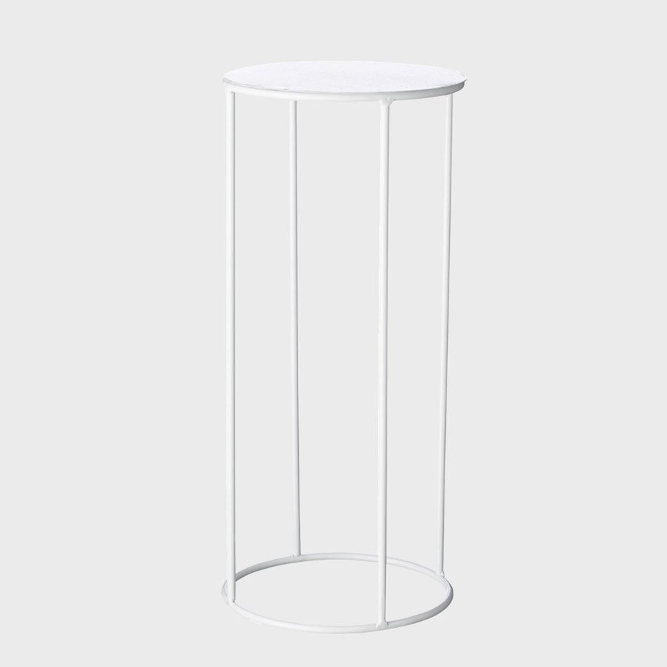 Lotus Pot Stand - Medium White