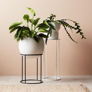 Lotus Pot Stand - Medium Nude