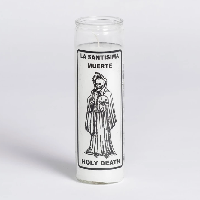 Holy Death Candle - White