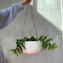 Load image into Gallery viewer, Cade Hanging Pot - Large - Soft White