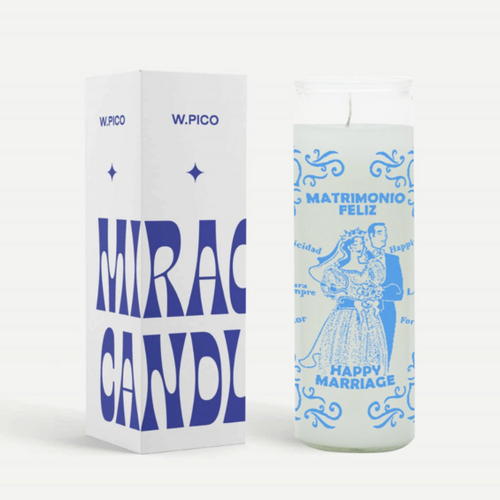 Happy Marriage Candle