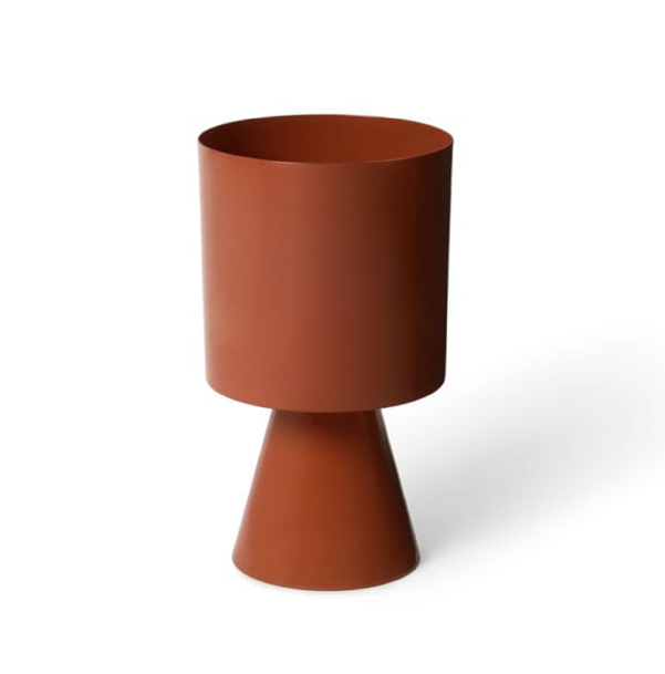 Palm Springs Planter Medium Burnt Sienna