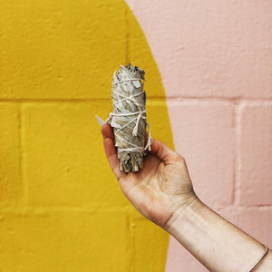 12.5cm Californian White Sage Smudge Stick