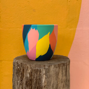 Gabby Love Hand Painted Pots