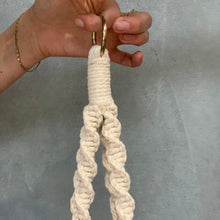 Load image into Gallery viewer, Macrame Ceramic Hanging Pot