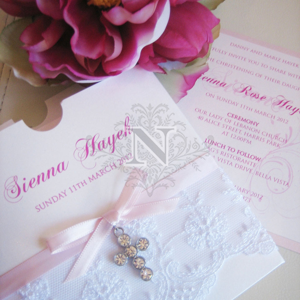Sienna Lcae pocket invitation