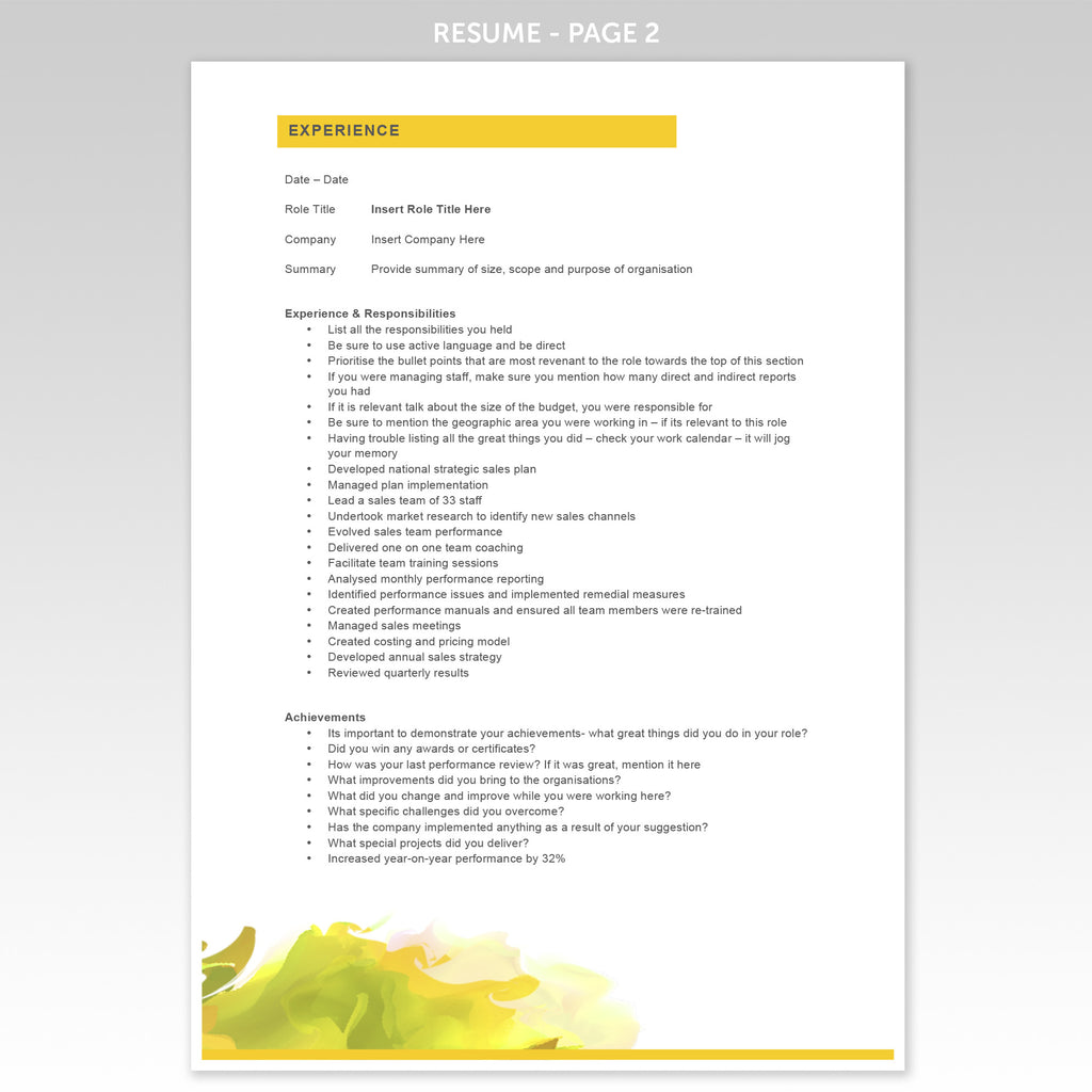 create a great resumes interview winning templates executive cover letter resume template innovate