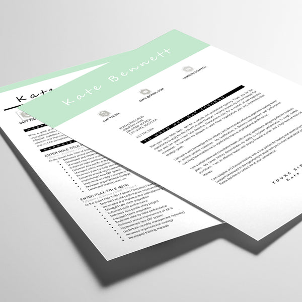 resume an cover letter templates executive resume templates