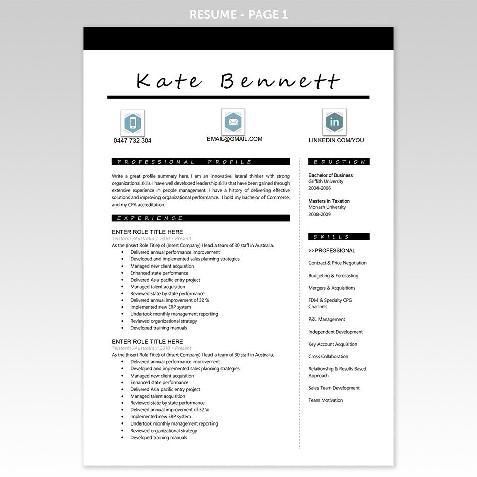 the best cover letter today executive resume templates cover letter resume template modern