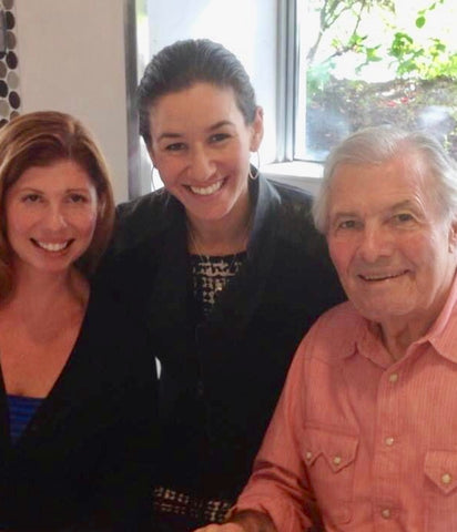 Jacques pepin  french chef heart and sole , Bambino's Baby Food  Zoi Maroudas president founder medical professional. healthy cooking
