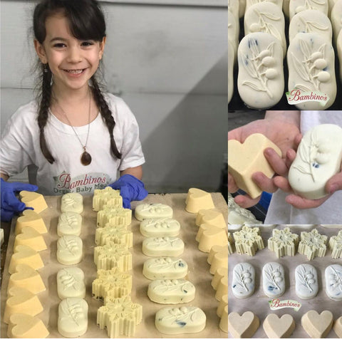Homemade bambinos baby food Maroulis all of the oil soaps great for babies infants and toddlers with allergies and asthma and eggs them a