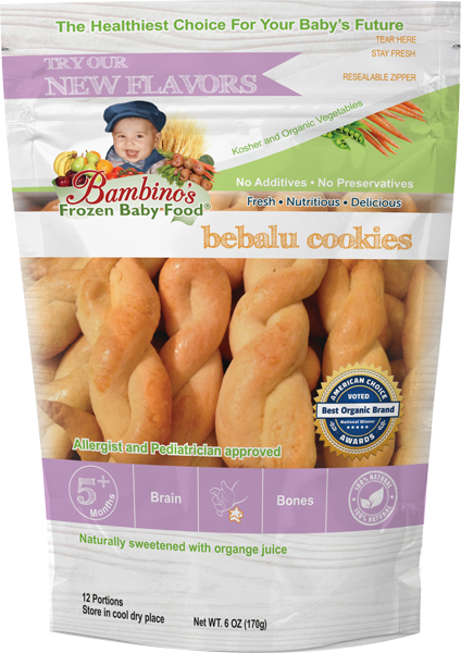 bebalu cookies organic teething sugar free best frozen organic Bambinos baby food