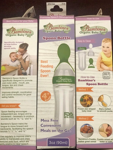 Bambino's Spoon Bottle