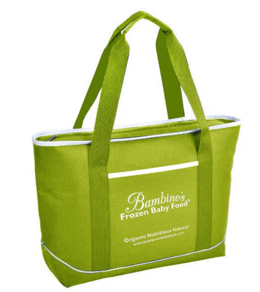 Bambino's Large Insulated Cooler Tote Bag