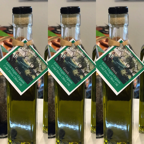 Maroudas Organic Extra Virgin Cold Press Olive Oil