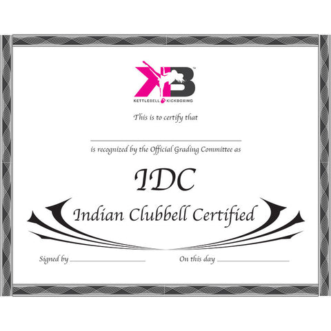 Indian Clubbell Certification