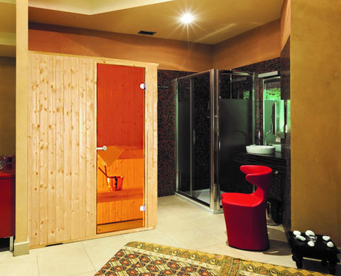 Traditional and Infrared Saunas.