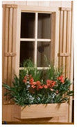 "34"" Window Box  Cedar Planters"