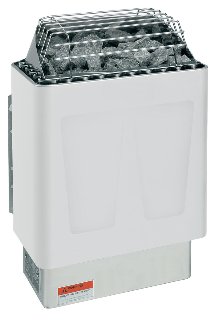 Harvia KIP45W 4.5KW Presented By Baltic Leisure: 4.5KW, 240V-1PH, 18.8 AMPS Package Deal