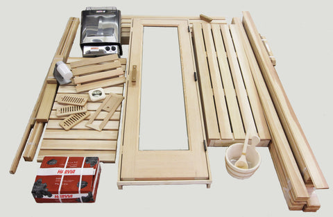 5 x 6 Silver Series Pre-cut Sauna Package