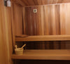 4' x 6' x 7' Baltic Leisure Silver Series Pre-built Sauna