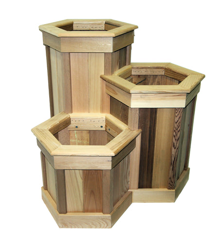 Tri-Level Hexagon Planter