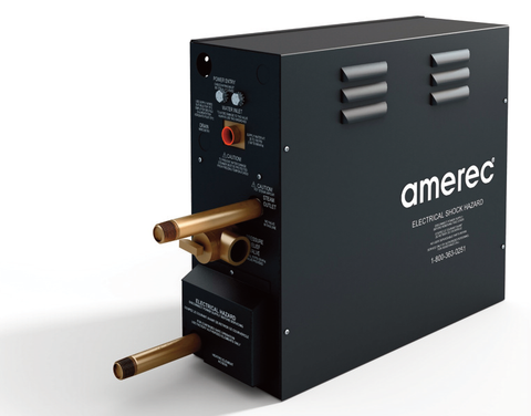 Amerec Steam Generator 7.5 KW, 240V Silver Package