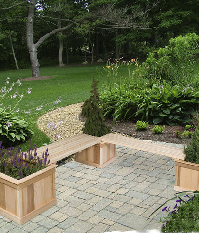 Cedar Planters and Benches