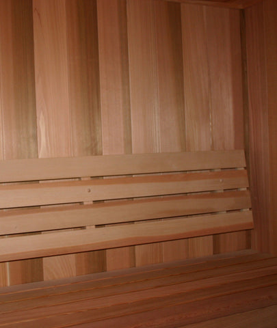 Horizontal Sauna Backrest