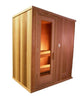 4 x 7 Silver Series Pre-built Sauna Package