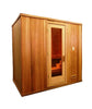 6 x 7 Silver Series Pre-built Sauna Package