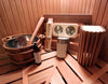 8 x 10 Platinum Series Pre-built Sauna Package