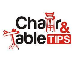 Our Recommended Products - Chair & Table Tips