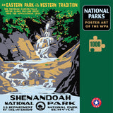 Shenandoah National Park Poster Art of The WPA 1000 Jigzaw Puzzle (Printed in USA) - Ziga Media