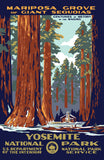 Yosemite National Park Poster Art of The WPA 1000 Jigzaw Puzzle