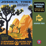 Joshua Tree National Park WPA 1000 Jigsaw Puzzle (Printed in USA) - Ziga Media