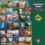 National Parks WPA 1000 Jigsaw Puzzle (Printed in USA) - Ziga Media