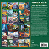 Three National Parks WPA 1000 Jigsaw Puzzles Sale-Priced Bundle $44.99 (Printed in USA)