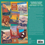 Colorado Plateau Group National Parks WPA 1000 Jigsaw Puzzle (Printed in USA) - Ziga Media