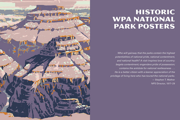 National Parks History of the WPA Poster Art Book