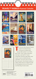 Travel the World Historic Travel Posters Perpetual Calendar Birthday Anniversary - Ziga Media